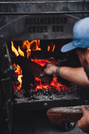 The new project smokes meats the old-fashioned way.