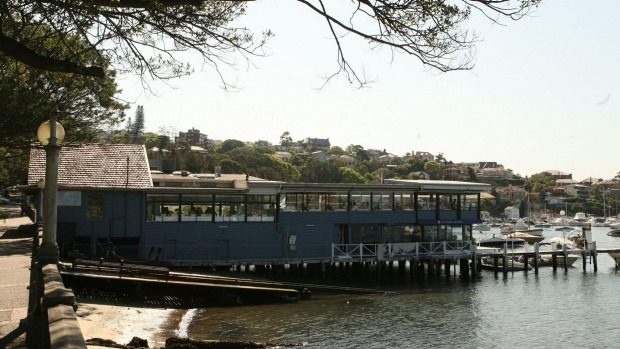 The former Pier Restaurant (pictured in 2006) will become the Boathouse Rose Bay.