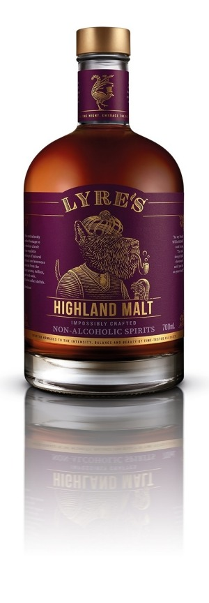 Lyre's recreates the flavours of spirits such as Highland malt, but without alcohol.