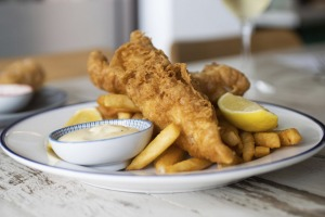 Fich at Petersham does excellent fish and chips perfect for inner-west parks.