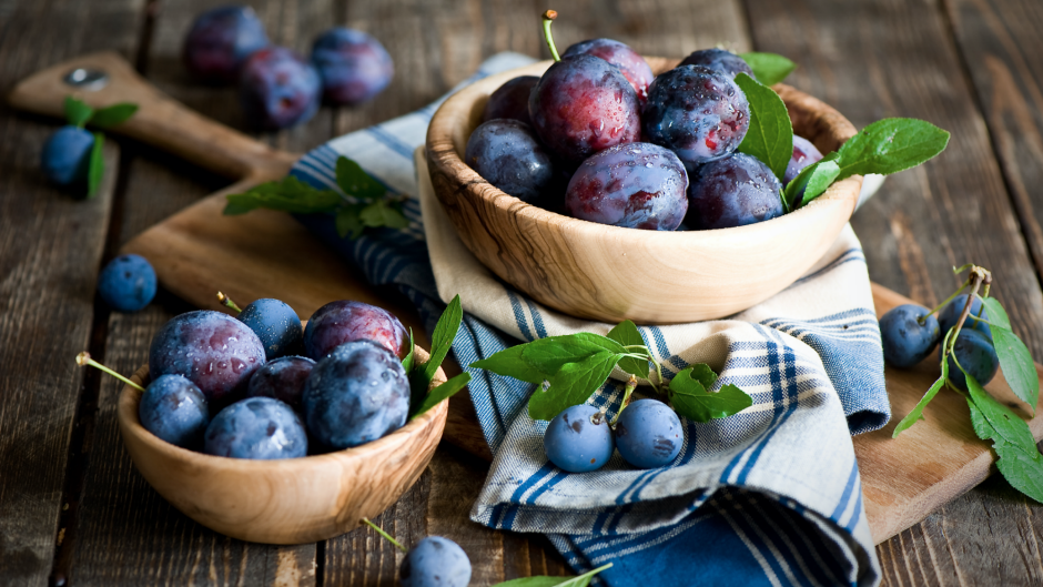 Make the most of this season's juicy plums.