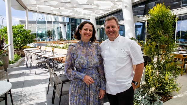 Restaurateurs Sunny and Ross Lusted.