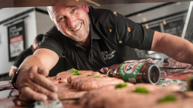 The sausage's blend of pork and beef carries the flavour of the beer and spice blend without overpowering the beer.