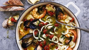 Summer seafood stew.