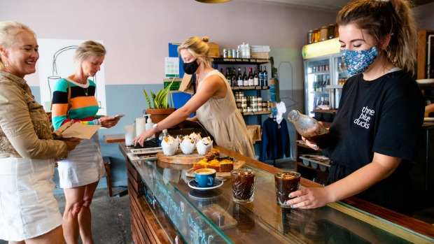 Cold brew has skyrocketed this summer at cafes such as Three Blue Ducks, Bronte.