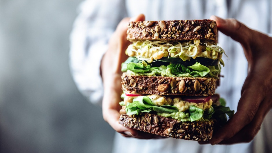 Loading your sandwich with vegetables ensures it's both nutritious and filling.