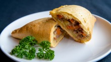 The much-loved Nigerian meat pie is kissing-cousin to a Cornish pastie.