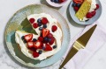 Easy berry Chantilly cake.