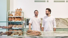 Bread Club's owners Brice Antier and Tim Beylie.