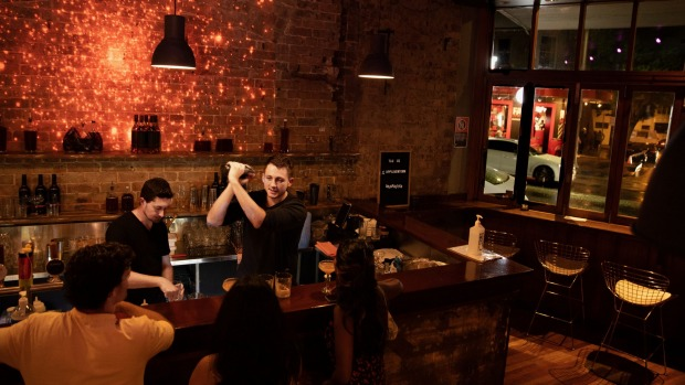 OPPIL, a new bar in Newtown, serves only serving antioxidant-infused wine and spirits, which it says can reduce ...