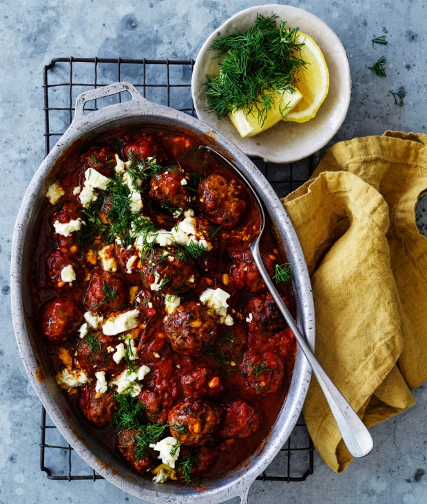 Serve these Middle Eastern meatballs hot or cold.
