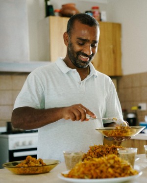 Niro's Sri Lankan recipes will be available to hosts.