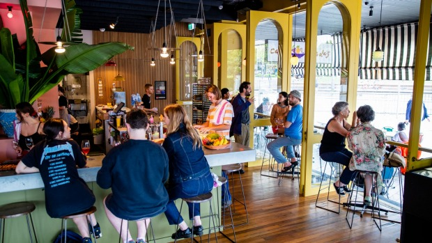 Cafe Freda's takes the good bits from a bar and creates something new.