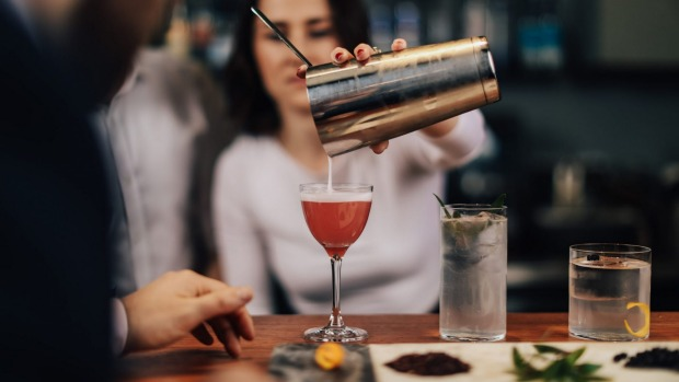 Brunswick Aces will be pouring zero alcohol cocktails such as the Aphrodite.