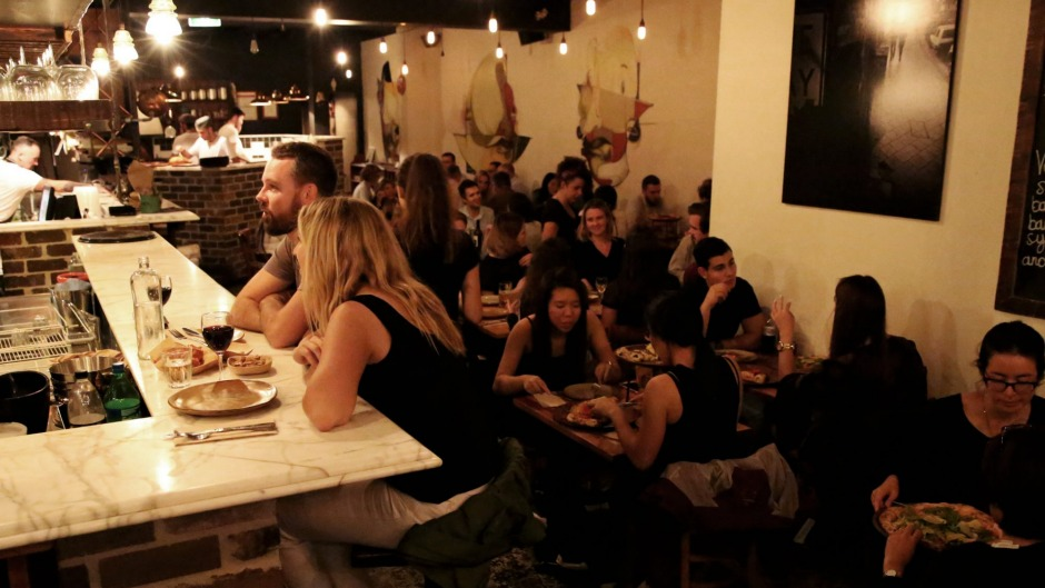 Gigi Pizzeria in Newtown has been plant-based since 2015 and remains hugely popular on King Street.
