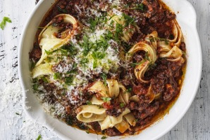Neil Perry's wagyu bolognese.