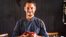 Osaka-trained chef Aaron Schembri is combining local artisan ingredients with Japanese technique.