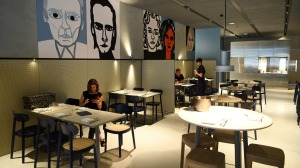 Hero restaurant at the Australian Centre for the Moving Image.