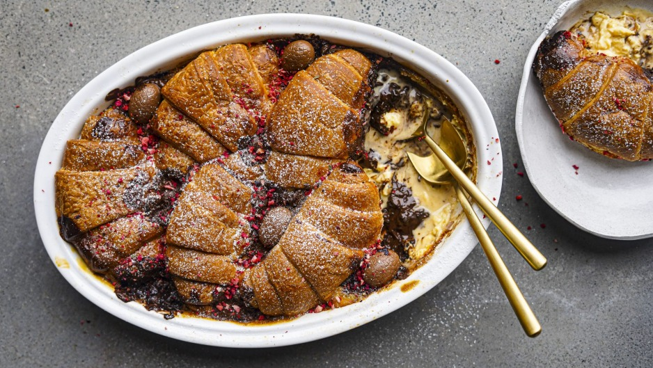 A brunchy, but not too eggy, twist on bread and butter pudding.