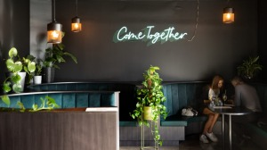 Comma elevates the south-eastern suburb's dining scene with velvet booths, communal tables and a dog-friendly beer garden.