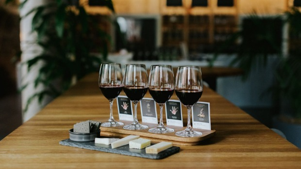 Handpicked Wines Melbourne Cellar Door is serving wine flights with cheese and other wine-friendly snacks.