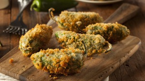 Make your own jalapeno poppers at home.