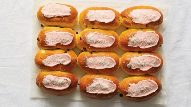 Finger buns from Australia: The Cookbook, published by Phaidon.