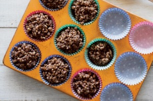 Top of the pops: Chocolate crackles are a simple sweet for kids to make.
