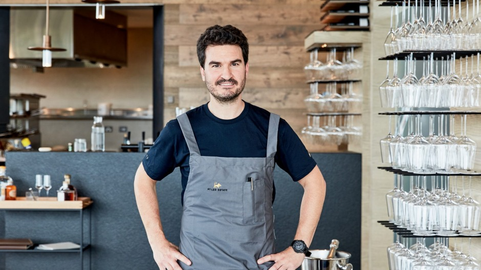 Chef Josep Espuga has been anounced as Phil Wood's replacement at Pt Leo Estate.