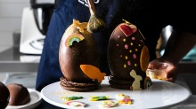 Darren Purchese of Burch & Purchese is hosting an online Easter egg class via Providoor.