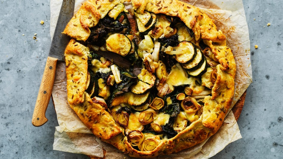 The great joy of a galette is its rustic, freeform nature.
