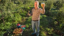 How do you like them apples?: Michael Mason, cider maker at Learmonth Cidery.