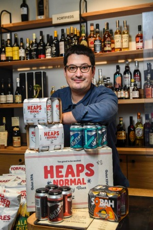 Blackhearts & Sparrows bottle shop manger Dan Blume.Non-alcoholic beer is now outselling may standard lagers and pales ...