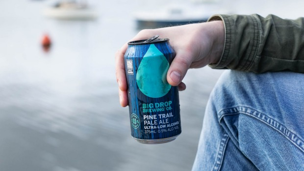 UK-based brand Big Drop launched in Australia last year and brews non-alcoholic beer out of Melbourne.