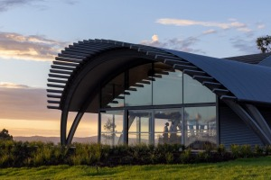 Levantine Hill's new $20 million winery and events space.