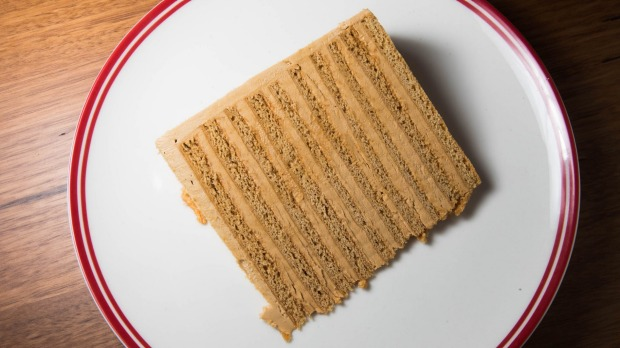 Biscuity cake or cakey biscuits? The Russian honey cake.
