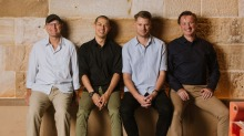 The Hinchcliff House team from left: Restaurateur Scott Brown, Justin Newton, culinary director Stephen Seckold and ...