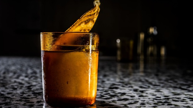 Banana-skin syrup is used in an old-fashioned at Re.