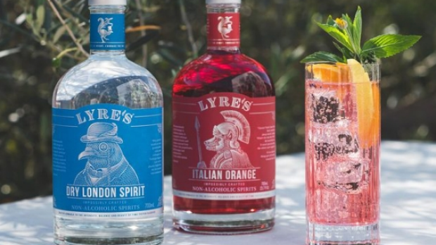 MarkLivings, co-founder, Lyre's Lyre's pink gin fizz Supplied