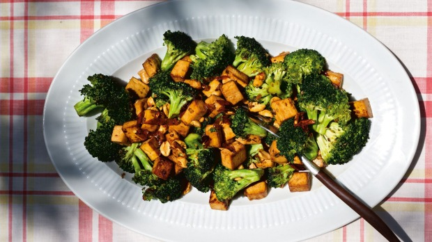 This is an edited extract fromSuper Natural Simpleby Heidi Swanson, published by Hardie Grant Books, RRP $39.99. Photographer: Heidi Swanson  Feisty tofu with broccoli, chilli and nuts  SINGLE USE only in print and online
