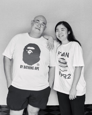 Juicy Banana is a mash-up of 'Big' Sam Young and Grace Chen's nicknames.
