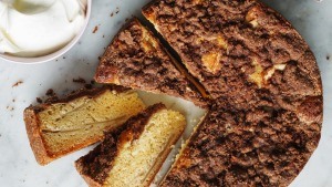 This cake is so moist and buttery, it does not need icing.