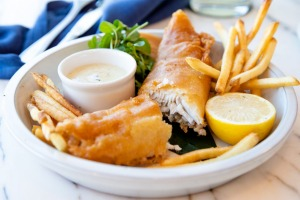 Fish and chips get an upgrade.