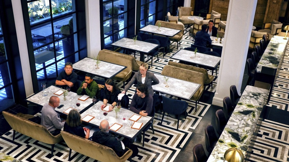 Luci occupies a heritage-listed space in the city's legal district.
