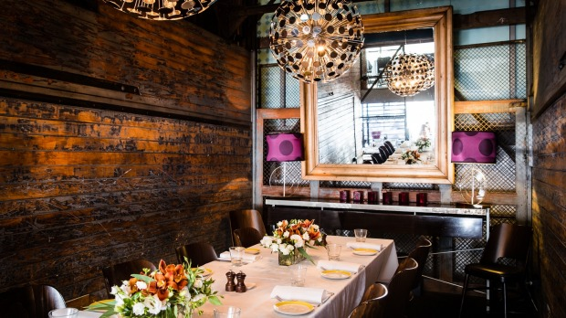 Otto private dining room Credit Nikki To Supplied PR photo for Good Food for story about private dining rooms