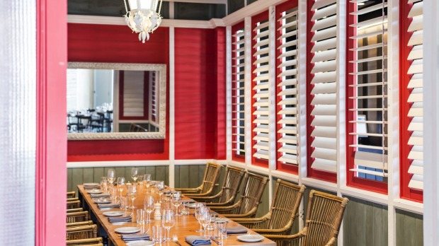 Nola private dining room Supplied PR photo for Good Food story about private dining rooms
