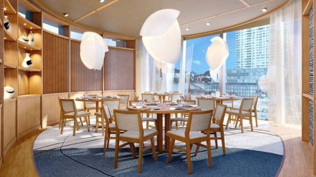 Nobu private dining room Supplied PR photo for Good Food story about private dining rooms