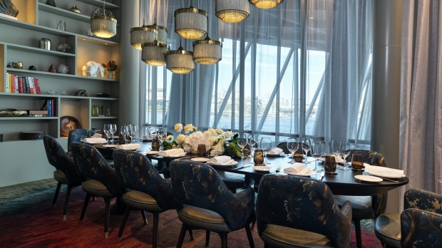 A'Mare private dining room Supplied PR photo for Good Food story about private dining rooms