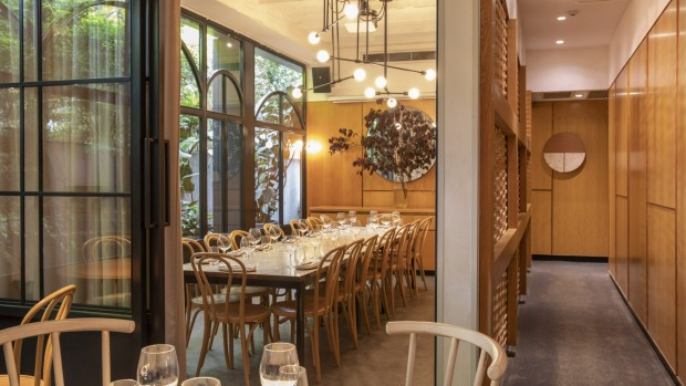 Nour private dining room Supplied PR photo for Good Food story about private dining rooms