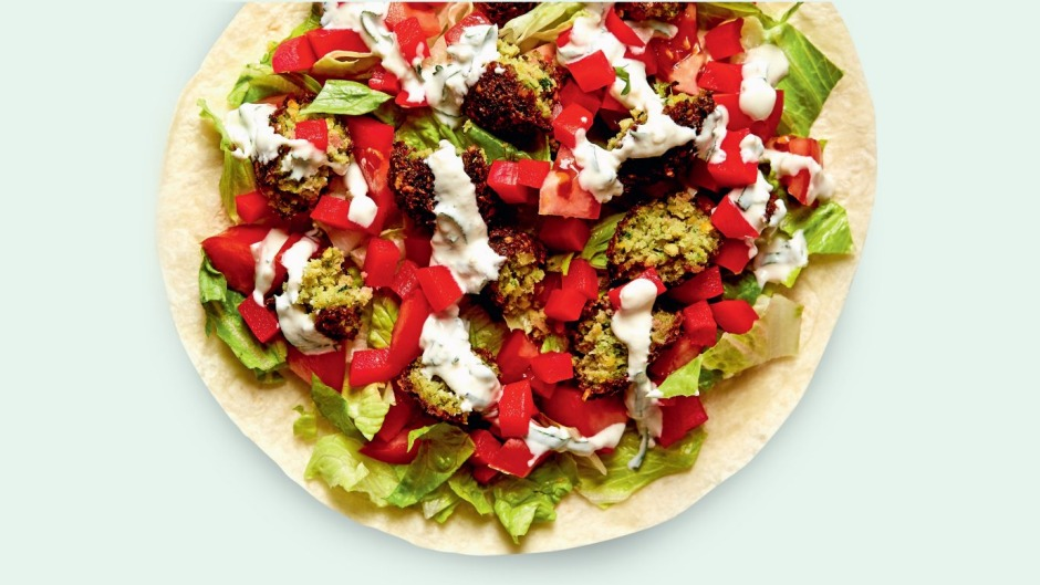 Falafel wraps are loved across much of the Middle East – and increasingly around the world.